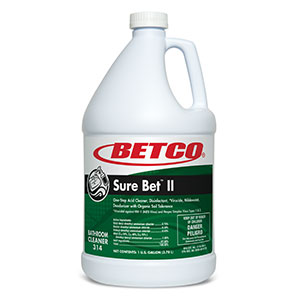 Sure Bet II Disinfectant Cleaner