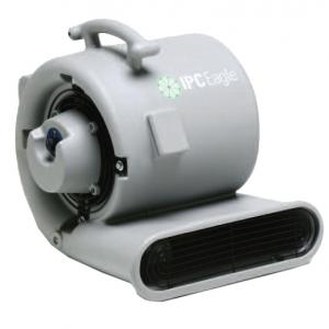 Portable Air Mover, Three-Speed, .5 HP, 2500 CFM
